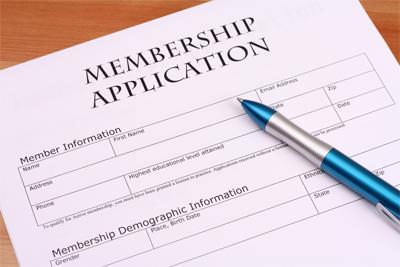 membership application image